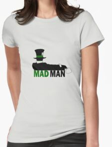Mad Man Womens Fitted T-Shirt