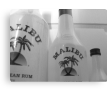 malibu line up Canvas Print
