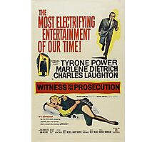 Witness for the Prosecution Photographic Print