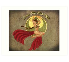 Slave War Pin Up Art Print