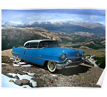 1956 Cadillac Coupe deVille Poster
