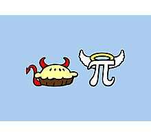 Devil Pie and Angel Pi Photographic Print