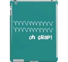 Funny Oh Crap Cardiac Rhythm iPad Case/Skin