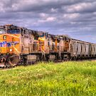 Moving Freight One Trainload at a Time by Terence Russell