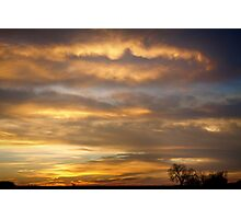 Boulder County Heavenly Sunrise Photographic Print