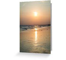 Sunset at Brighton Beach #2 Greeting Card