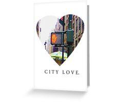 City Love Series - N.Y.C Greeting Card
