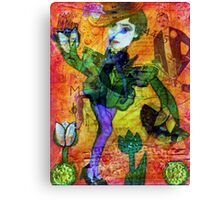 Tiptoe Through the Tulips Canvas Print