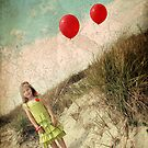 Two Balloons by Cyn  Valentine