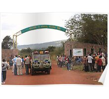 Welcome to Akagera National Park Poster