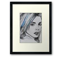 I Create Myself Framed Print