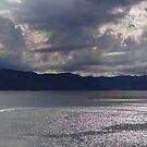 Clouds above Ocean and Mountains - Nubes arriba del Mar y las Montañas by PtoVallartaMex