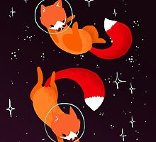 Space Foxes - Movember 2015 Edition by Maike Vierkant