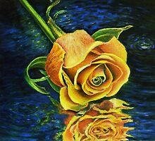 Waning Rose by Robert Zunikoff