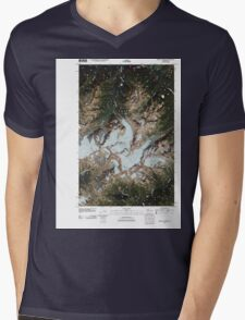 USGS Topo Map Washington State WA Mount Olympus 20110503 TM Mens V-Neck T-Shirt