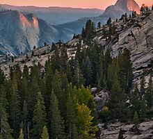 At the End of the Day - Olmstead Point, Yosemite NP, CA by Matthew Kocin