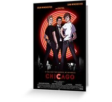Supernatural CHICAGO Greeting Card