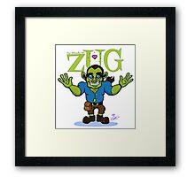 ZUG HUG-O-DAY! Framed Print