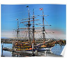 The Fantasy of Tall Ships Poster