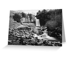 Thornton Force In Mono Greeting Card