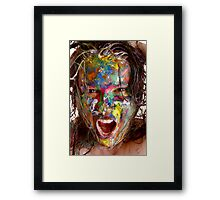 Having one of those days ????????? Framed Print