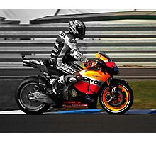 Casey Stoner 2011 - Making history Photographic Print