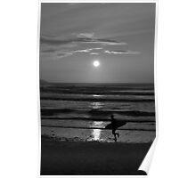 The night surfer. Poster