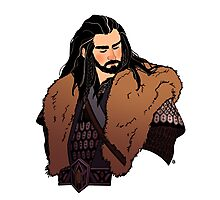 Thorin Oakenshield Photographic Print
