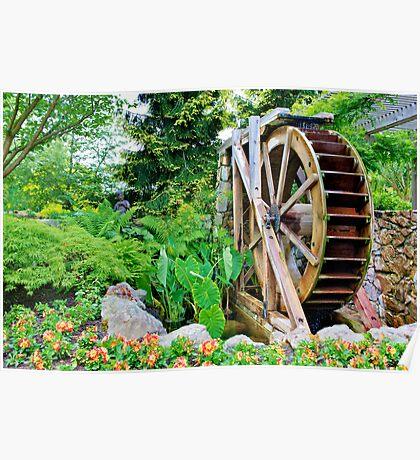 Garden's Wheel Poster
