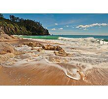 Onemana Beach Drift Photographic Print