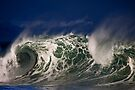 Winter Waves At Waimea Bay 5 by Alex Preiss