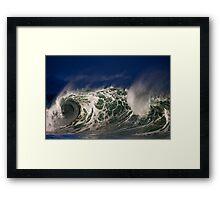 Winter Waves At Waimea Bay 5 Framed Print