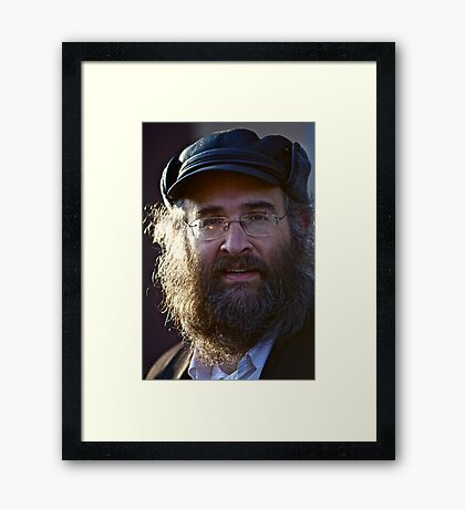 Harcikn Dank ! A dank ojch zejer! Shabbat Faces  .Leżajsk. ### 777 ### , by Andrew Brown Sugar .  Featured in 50+ GROUP. Views: 230 . Framed Print