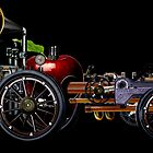 steam powered apple car by tinncity
