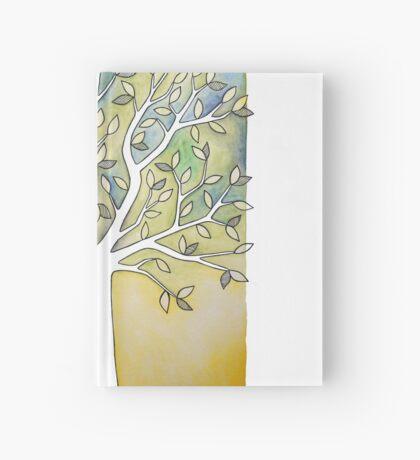 Watercolor Tree Hardcover Journal