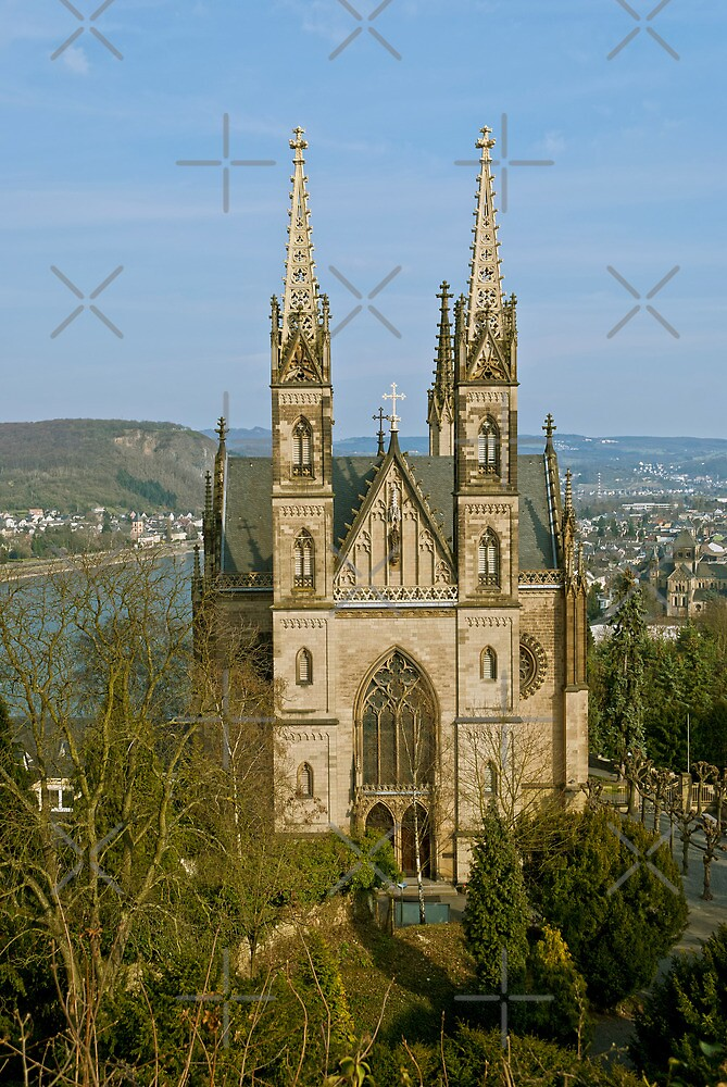 Apollinaris church in Remagen, Germany by Vac1