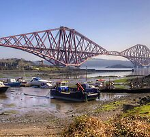 North Queensferry Bridge by Tom Gomez