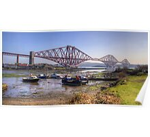 North Queensferry Bridge Poster