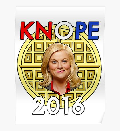 Leslie Knope for President Poster
