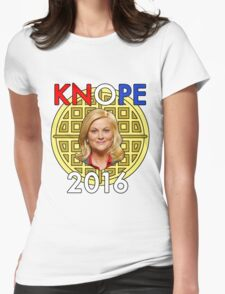 Leslie Knope for President Womens Fitted T-Shirt