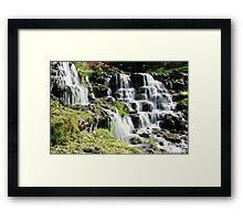 Cascades of Water at Big Cedar Framed Print