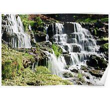 Cascades of Water at Big Cedar Poster
