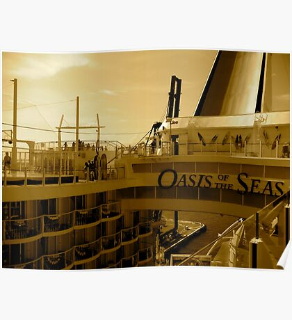 Royal Carribean  Cruise Poster