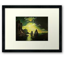 Lost Shores Framed Print