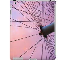 Lavender Sky and London Eye Wheel iPad Case/Skin