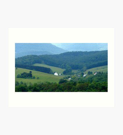 Beautiful Valley Art Print