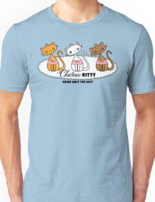 Kawaii Chateau Kitty Wine Bottle  Unisex T-Shirt
