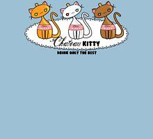 Kawaii Chateau Kitty Wine Bottle  Womens Fitted T-Shirt