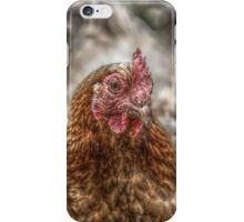 HDR chicken case iPhone Case/Skin