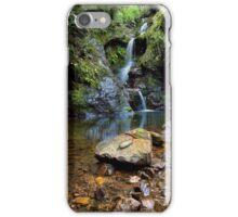 White Star Waterfall iPhone Case/Skin